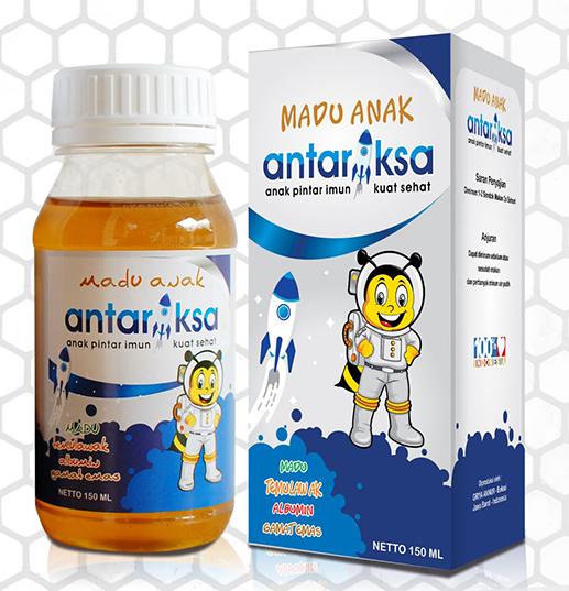 Botol box madu anak antariksa