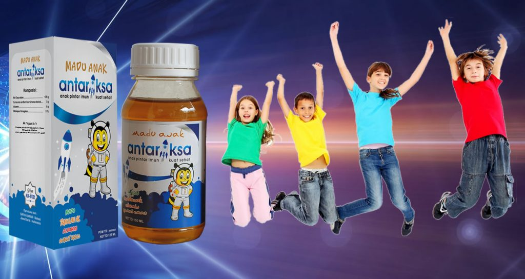 manfaat dan khasiat madu antariksa untuk anak