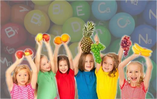 anak dan vitamin