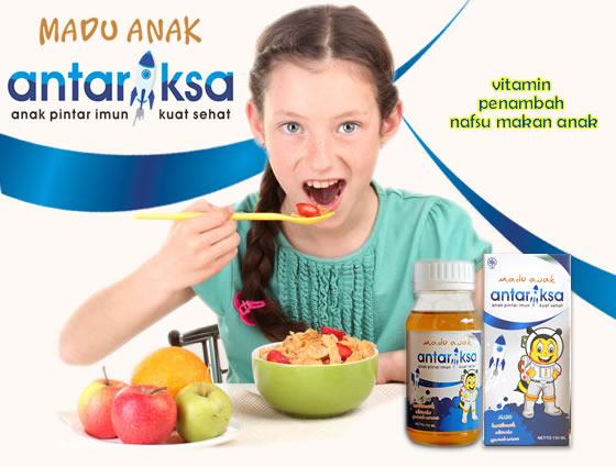 madu anak antariksa penambah nafsu makan anak