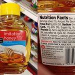 cek madu asli dengan label