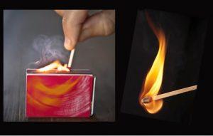 cara cek madu asli dengan dibakar