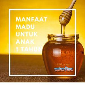 Manfaat madu untuk anak 1 tahun