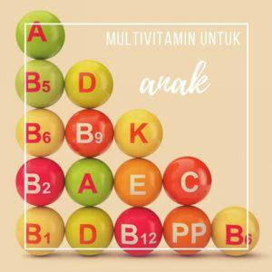 multi vitamin anak
