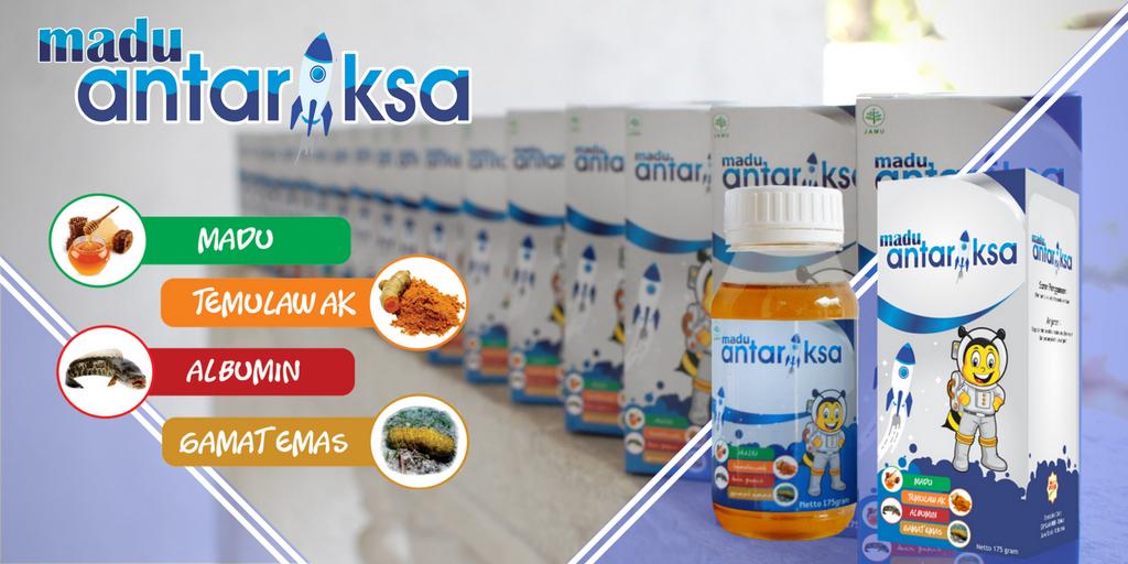 madu antariksa - vitamin penambah nafsu makan anak
