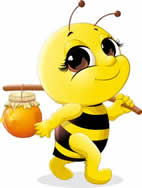 lebah bawa madu asli ya