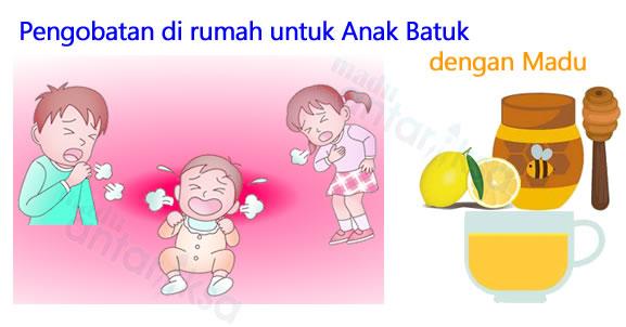 madu untuk meredakan batuk anak