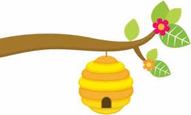sarang lebah asli